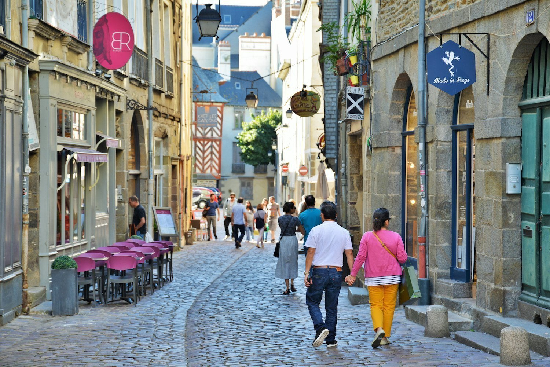 Une rue de Rennes