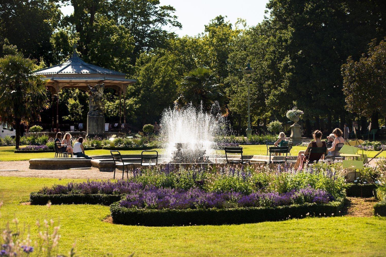 Thabor gardens