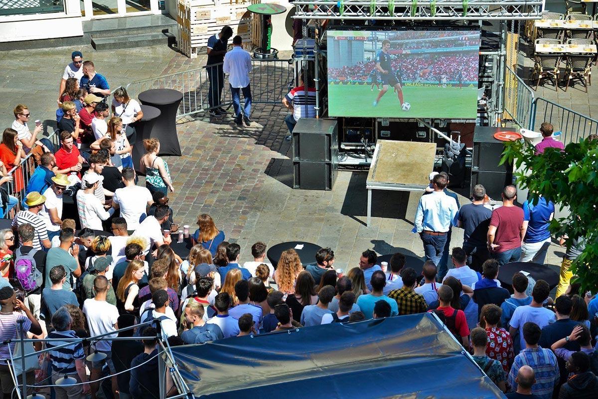 Coupe du monde 2018 - Terrasse du Tio Paquito