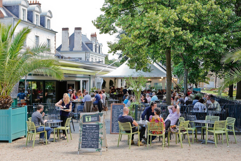 La terrasse du Thabor à Rennes