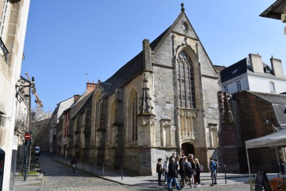 La chapelle Saint-Yves à Rennes