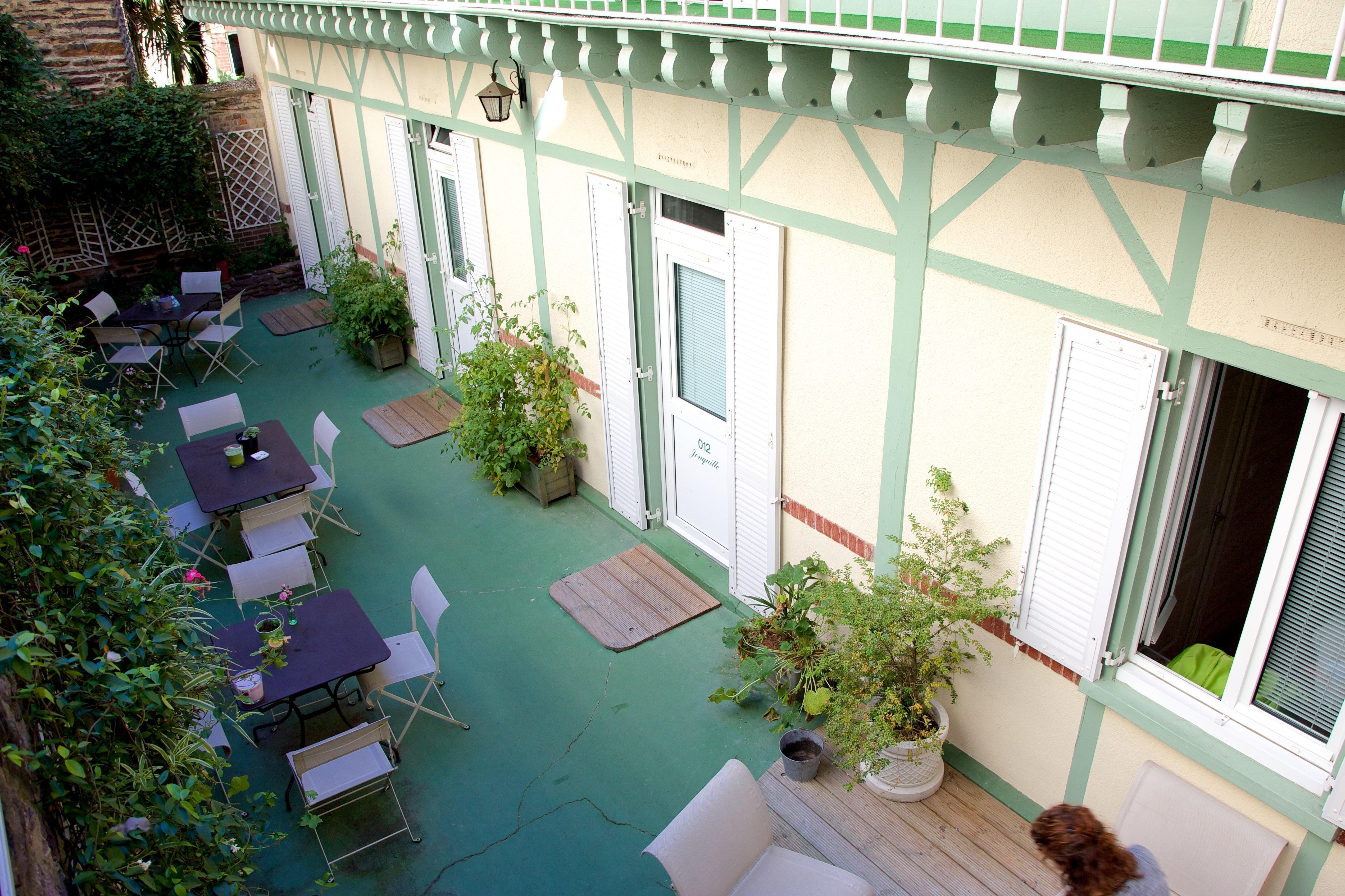 Garden Hôtel de Rennes