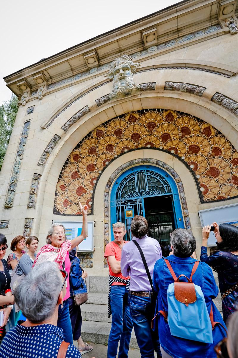 Visite Odorico et l'art de la mosaïque