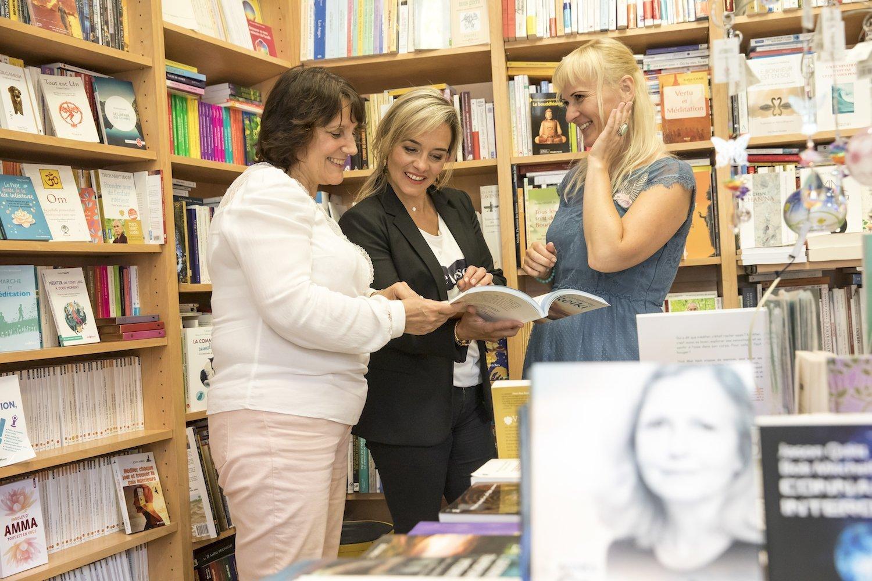 Alexandra Beauvais à la librairie Rose Mystique