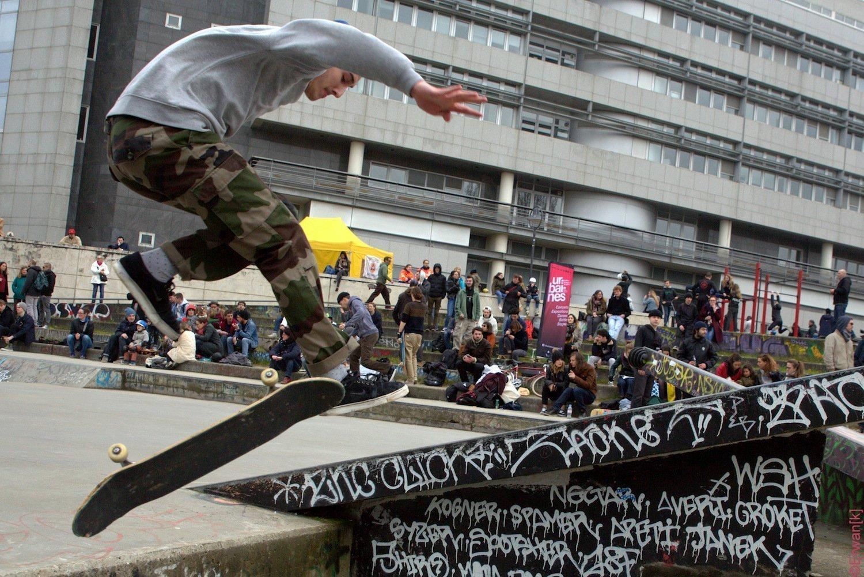 Skate park d'Arsenal