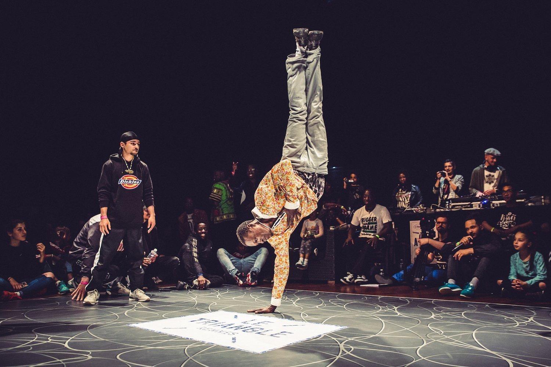 Battle de hip hop au Triangle