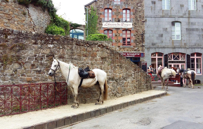 Horse riding in Bécherel
