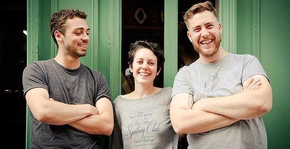 Les chefs du restaurant Bercail à Rennes