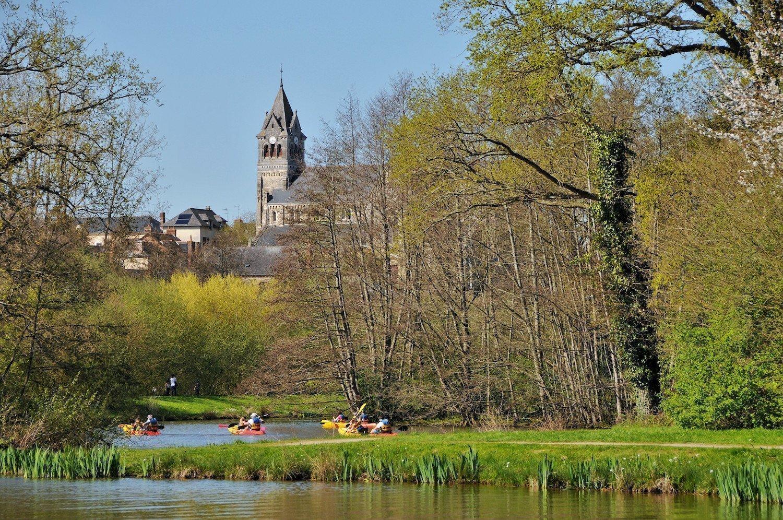 Le canal à Betton