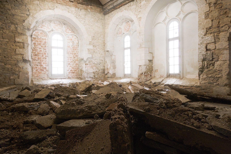 Le Couvent des Jacobins avant sa restauration