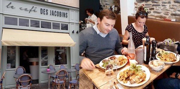 Restaurant Le café des jacobins à Rennes