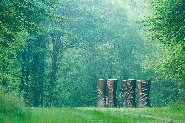 Le parc de sculptures de Kerguéhennec