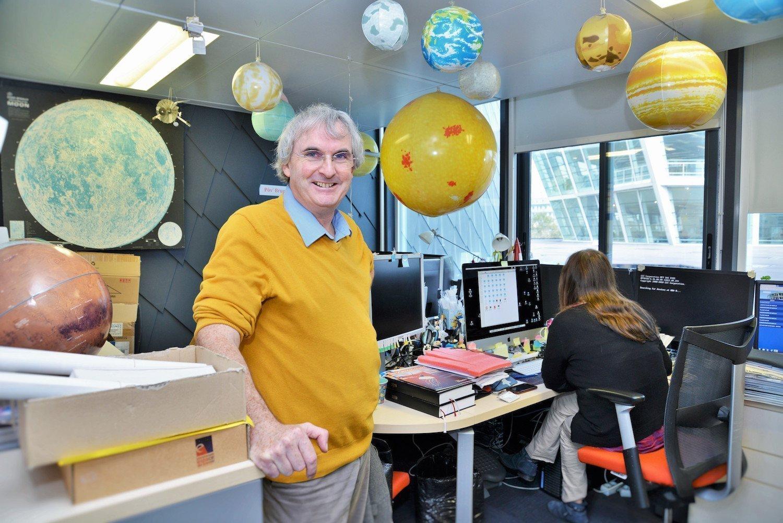 Bruno Mauguin du Planétarium