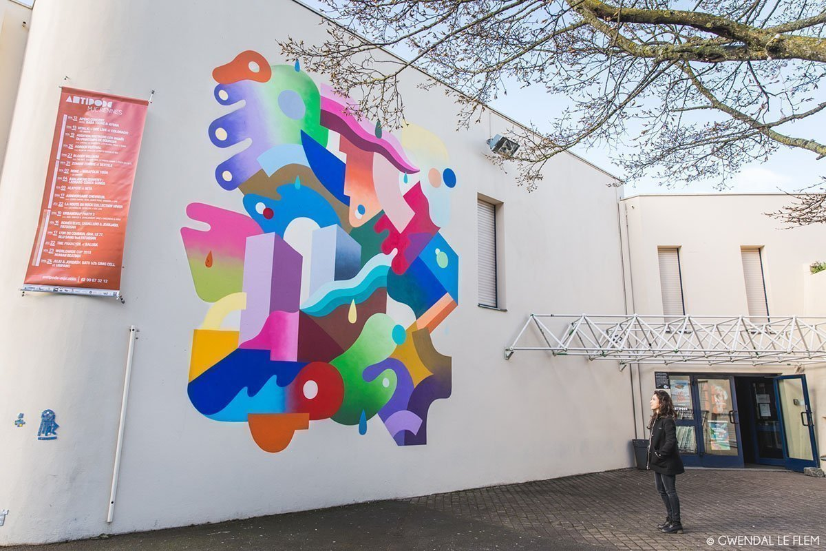 Fresque - Antipode Rennes