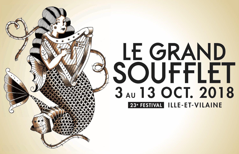 Affiche du festival Grand Soufflet 2018