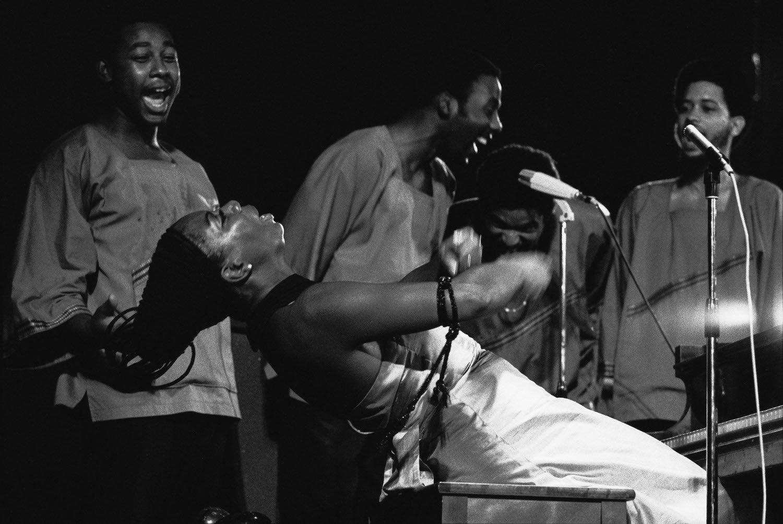 Concert de Nina Simone, Alger, Algérie, 30 juillet 1969