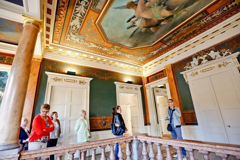 Visite de l'Hôtel de Courcy