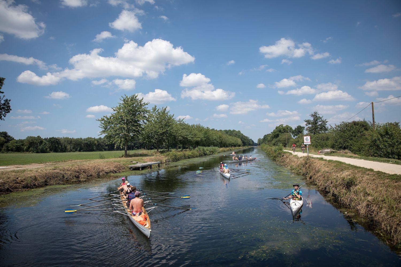 Kayak sur la Vilaine