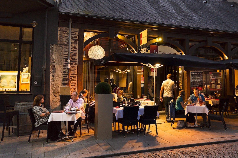 The restaurant La Réserve