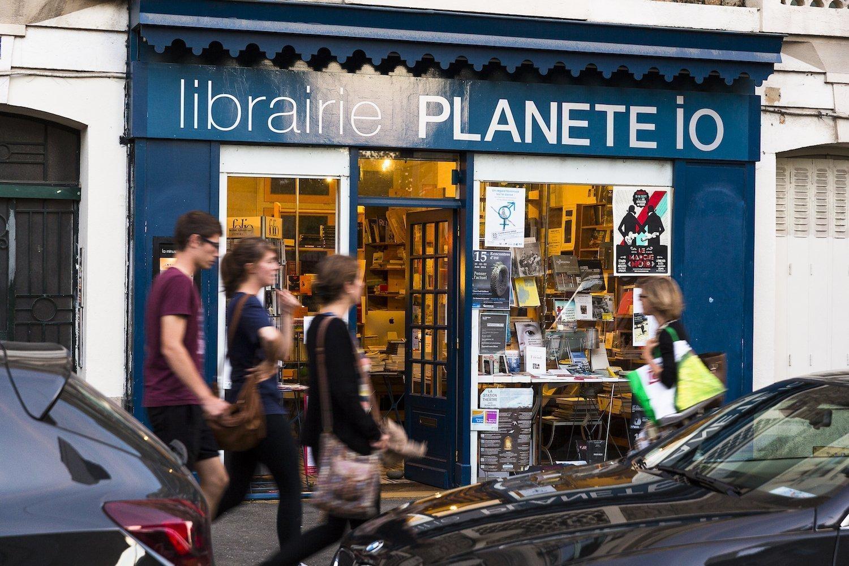 La Librairie Planète Io à Rennes