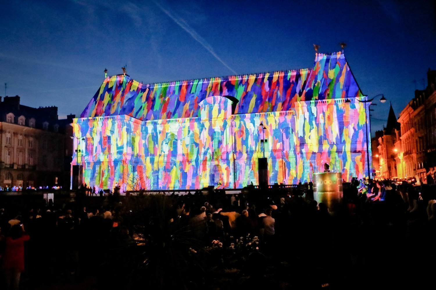 The projections created by Spectaculaires