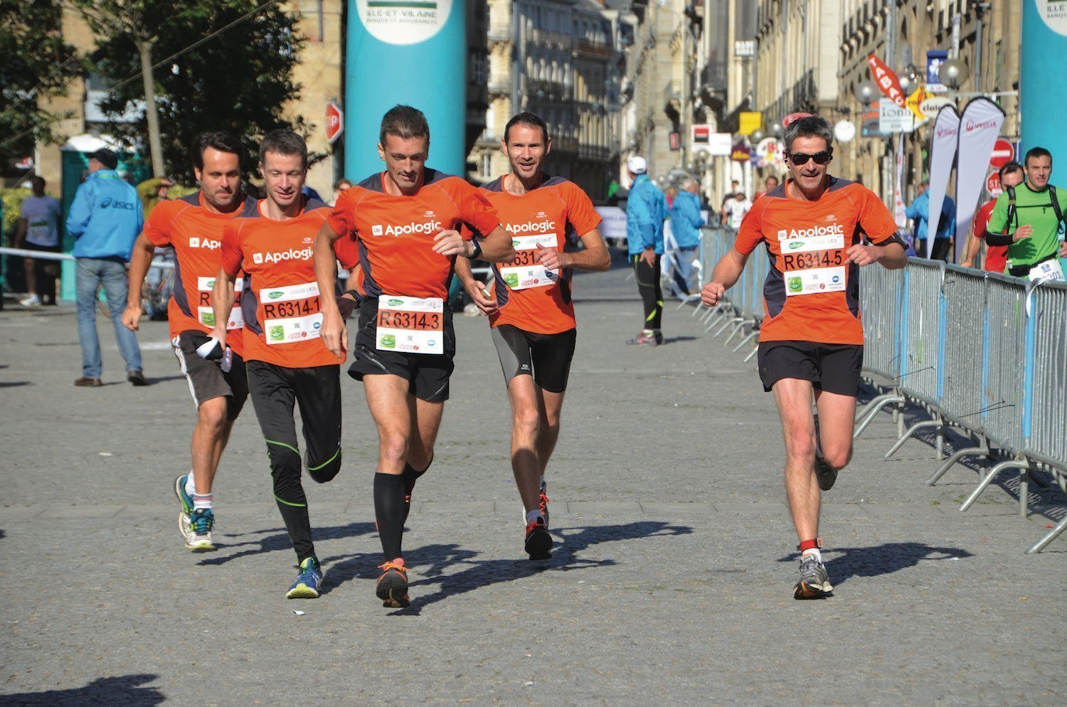 The green Marathon in Rennes