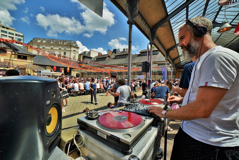 Le marché à Manger de Rennes