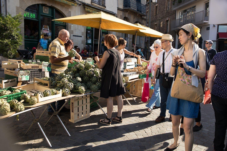 Les marchés en Bretagne, une attraction touristique