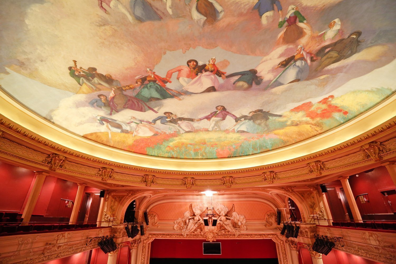 Les fresques de l'opéra de Rennes