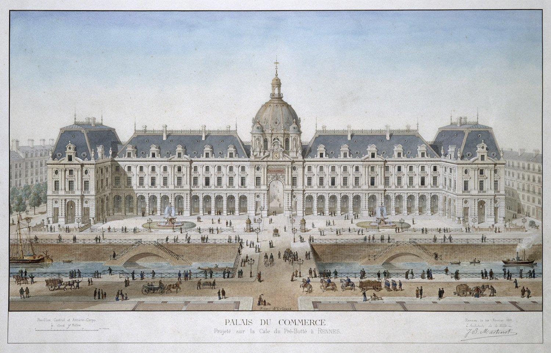 Palais du commerce à Rennes