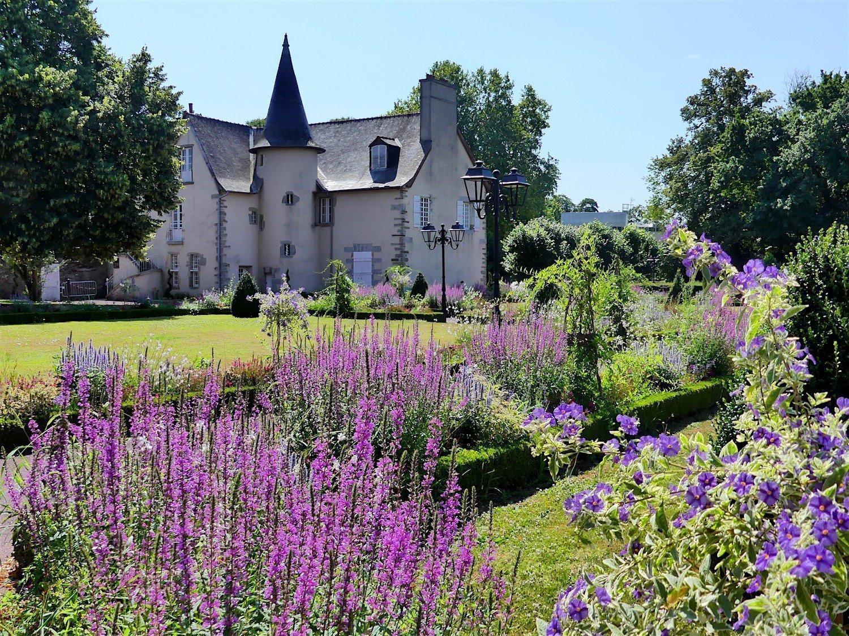 The Bourchevreuil Park in Cesson-Sévigné