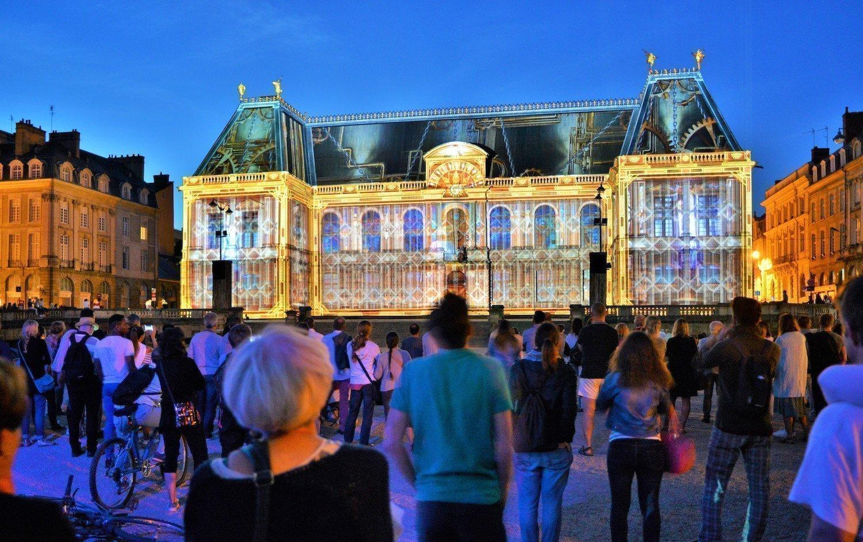 Illuminations au Parlement de Bretagne