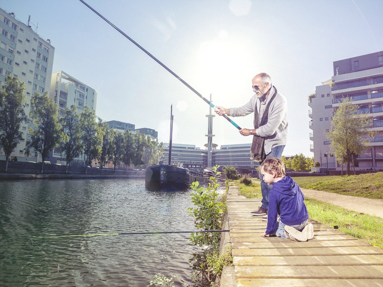 Street-fishing à Rennes