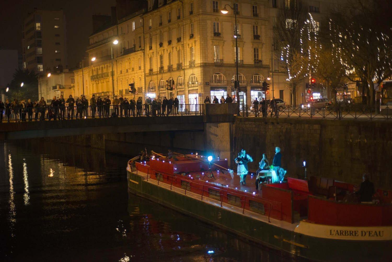 La péniche spectacle à Rennes