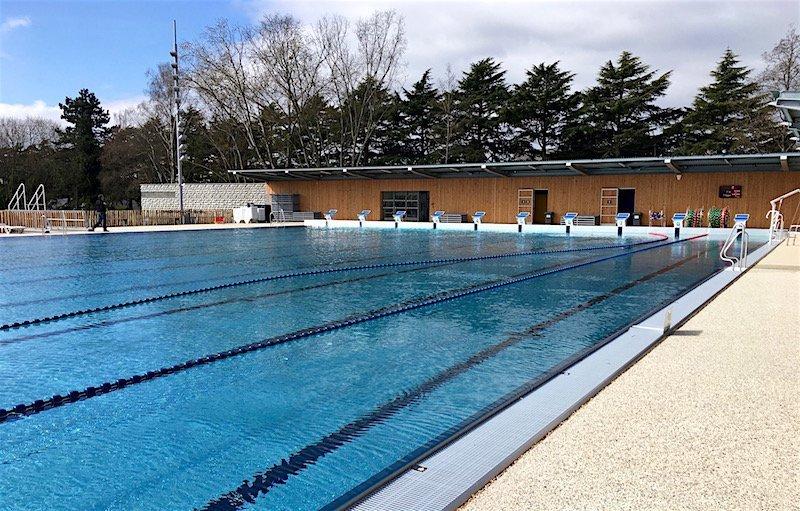 Bassin nordique de la piscine Bréquigny à Rennes