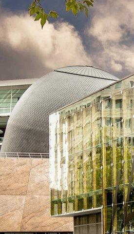 Le dome du planetarium de Rennes