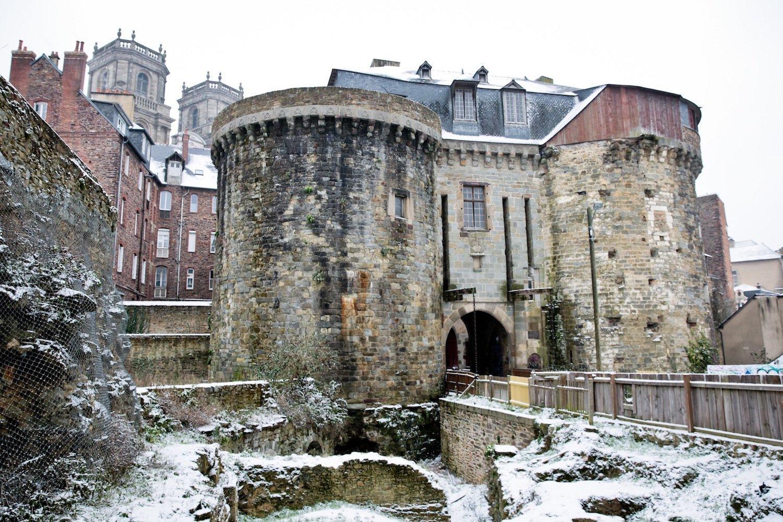 Les Portes Mordelaises in the snow