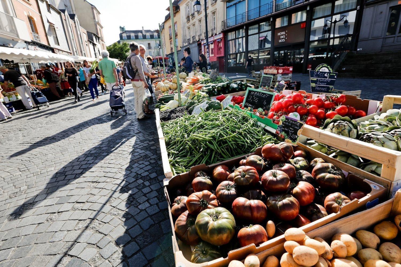 Le marché des Lices de Rennes