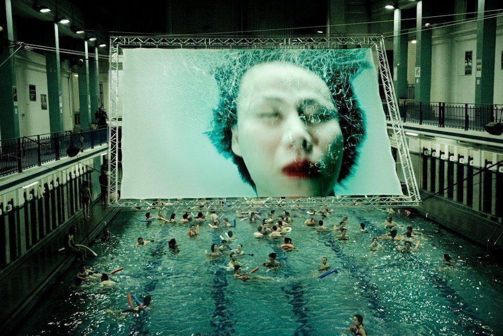 Projet Inject à la piscine Saint-Georges de Rennes en 2010
