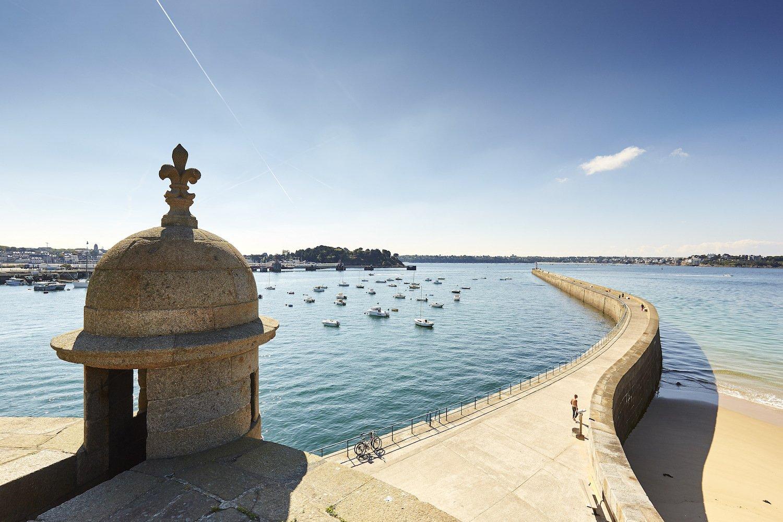 Le mole de Saint-Malo
