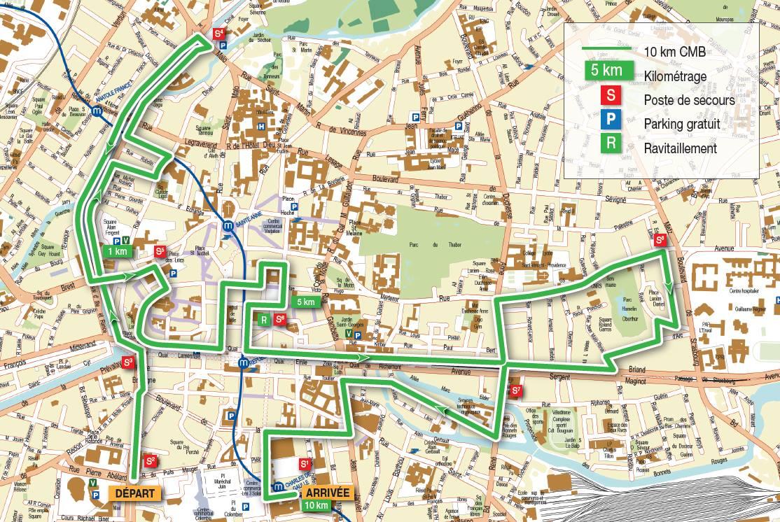 Tout Rennes court 10km