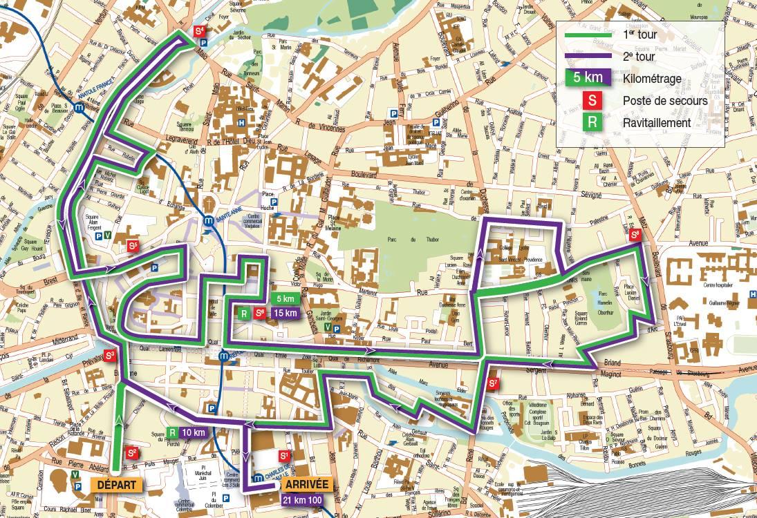 Tout Rennes court semi marathon