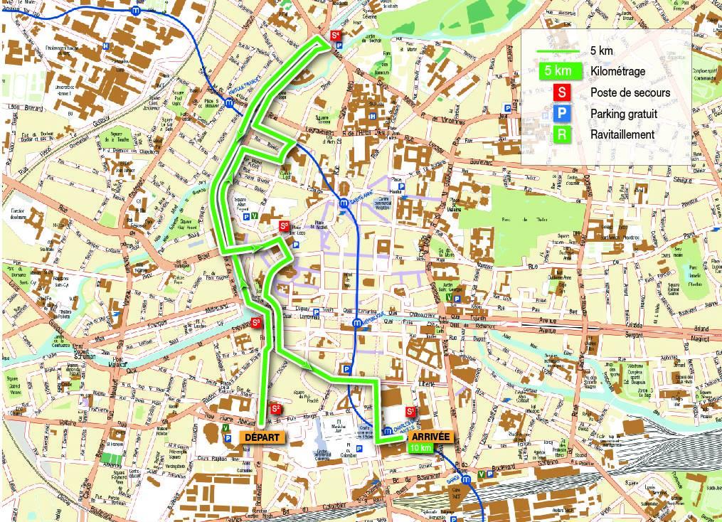 Tout Rennes court 5km