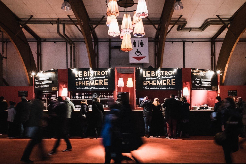 Le bistrot éphémère des Trans au Parc Expo