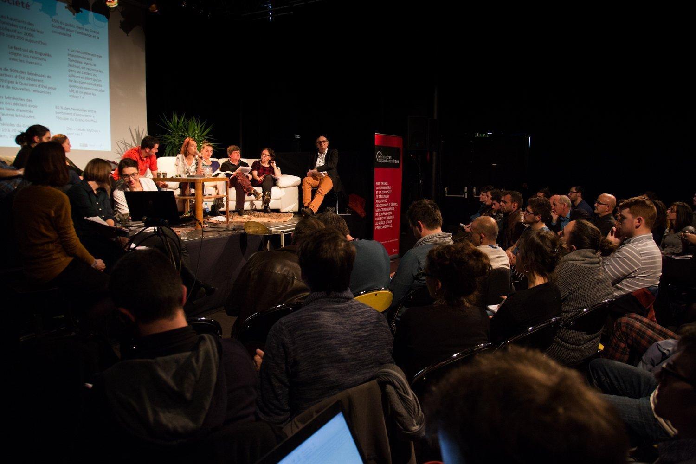 Débat aux Trans Musicales de Rennes