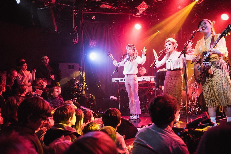 Concert des familles à l'Ubu