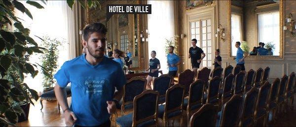 Rennes urban trail : l'hôtel de ville