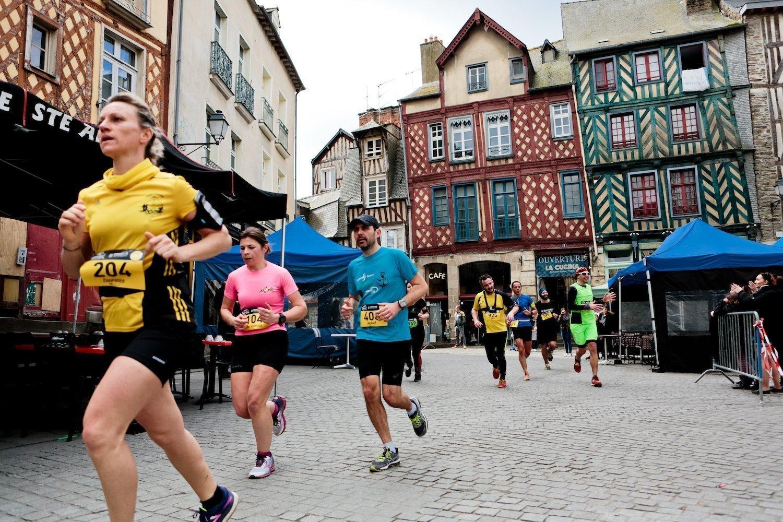 Le trail urbain de Rennes, une découverte insolite de la ville