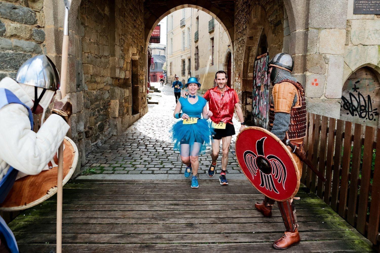 Rennes urban trail : Passage par les portes Mordelaises