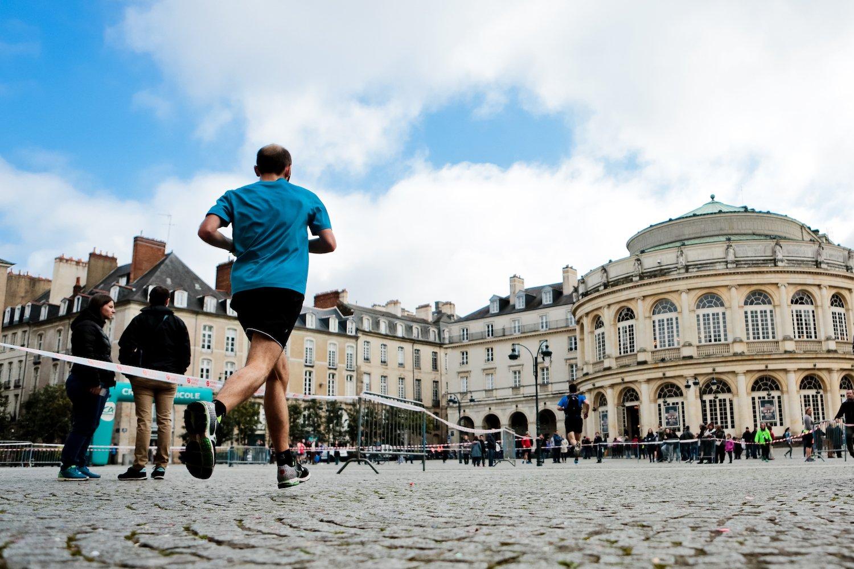 Le trail urbain de Rennes traverse les monuments